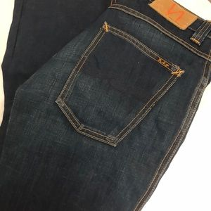Nudie Jeans Straight Leg High Rise